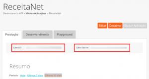 Gerencianet - Client ID e Client Secret